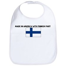 MADE IN AMERICA WITH FINNISH  Bib