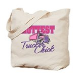Hottest Trucker Chick Tote Bag