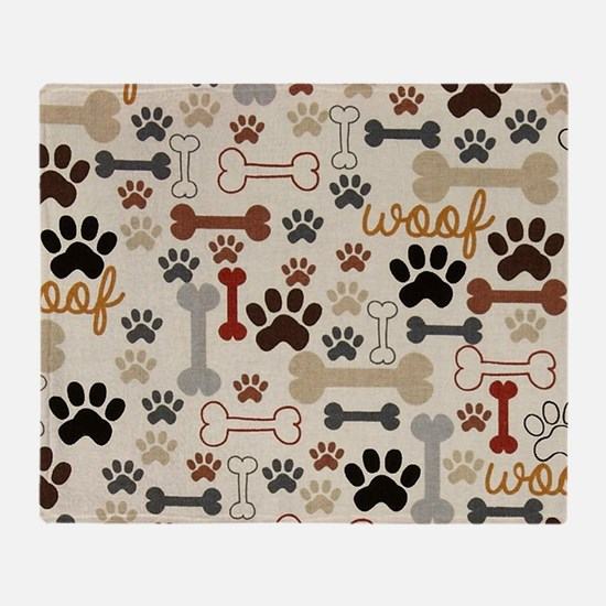 Cool Dog Throw Blanket