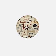 Cute Dog Mini Button