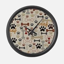 Cute Bones Large Wall Clock