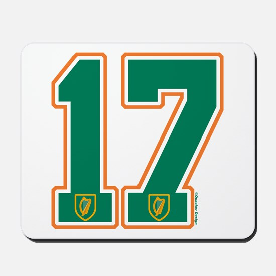 IE Ireland(Eire/Erin) Hockey 17 Mousepad