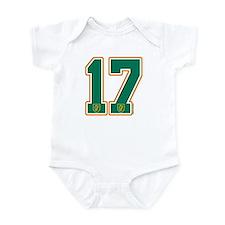 IE Ireland(Eire/Erin) Hockey 17 Infant Bodysuit
