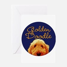 Golden Doodle Greeting Cards