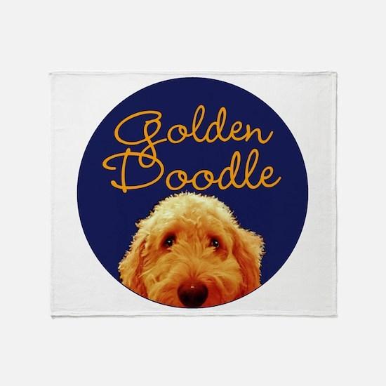 Golden Doodle Throw Blanket
