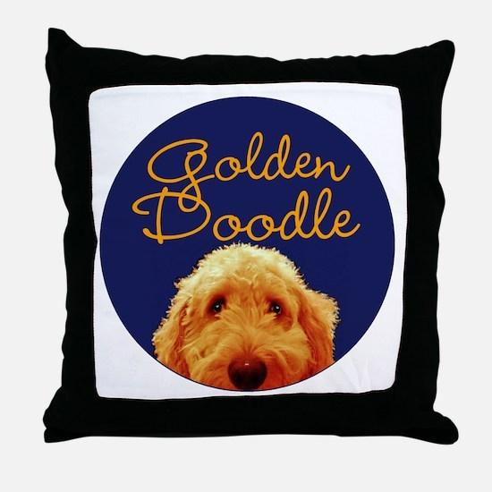 Golden Doodle Throw Pillow
