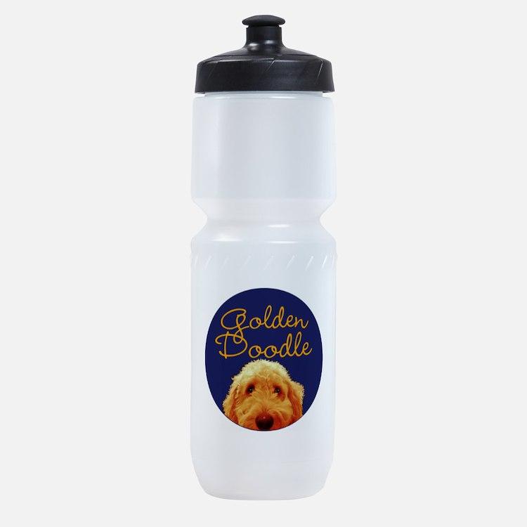 Golden Doodle Sports Bottle