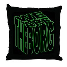 We are the Borg Throw Pillow