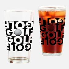 GOLF GOLF GOLF GOLF Drinking Glass
