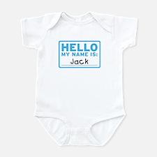 Hello My Name Is: Jack - Infant Bodysuit