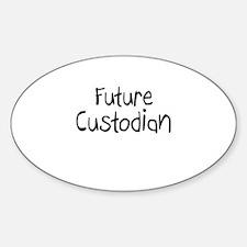 Future Custodian Oval Decal