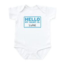 Hello My Name Is: Luke - Infant Bodysuit
