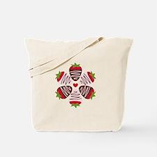 Chocolate Strawberries Tote Bag
