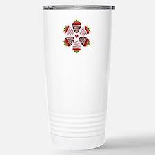 Chocolate Strawberries Travel Mug