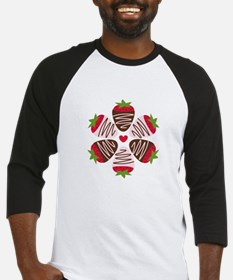 Chocolate Strawberries Baseball Jersey