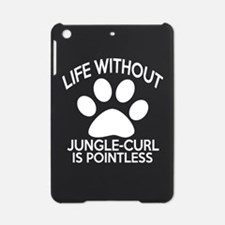 Life Without Jungle-curl Cat Design iPad Mini Case