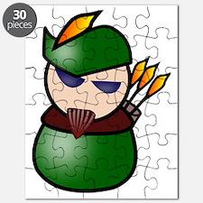Unique Robin hood Puzzle