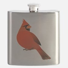 Funny Gold finch Flask