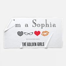 I'm A Sophia Beach Towel