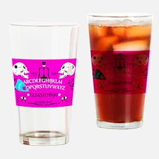 pink ouija Drinking Glass