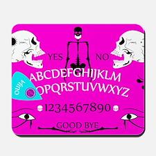 pink ouija Mousepad