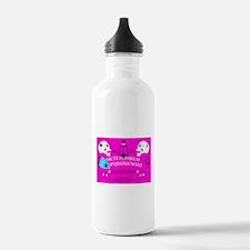 pink ouija Water Bottle