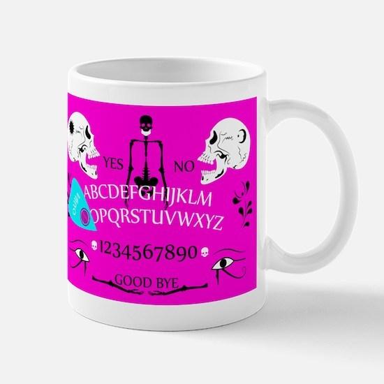pink ouija Mugs