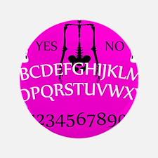 pink ouija Button