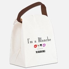 I'm A Blanche Canvas Lunch Bag