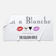 I'm A Blanche Beach Towel