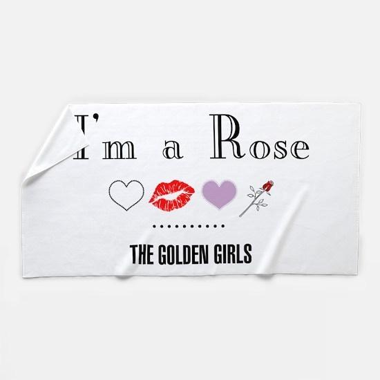 I'm A Rose Beach Towel
