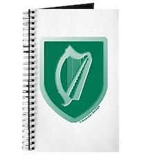 IE Gaelic Harp Emerald Ireland/Eire Journal