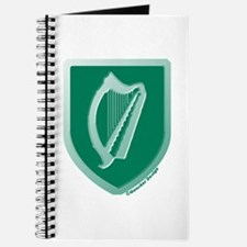 IE Gaelic Harp Emerald Ireland/Eire Journal