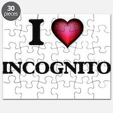 I Love Incognito Puzzle