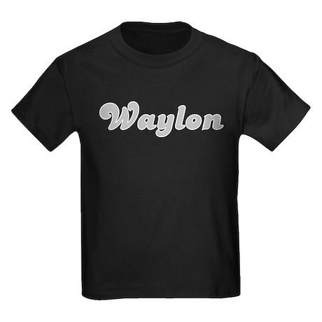 Waylon Fancy (Silver) Kids Dark T-Shirt