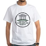 Online Paper Airplane Museum White T-Shirt