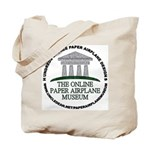 Online Paper Airplane Museum Tote Bag