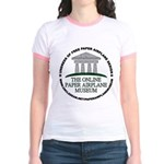 Online Paper Airplane Museum Jr. Ringer T-Shirt