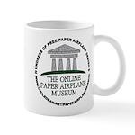 Online Paper Airplane Museum Mug