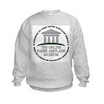 Online Paper Airplane Museum Kids Sweatshirt