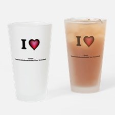 I love Inconceivable Drinking Glass