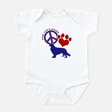 P,L, CAVALIERS Infant Bodysuit