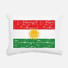 Unique Kurdistan Rectangular Canvas Pillow