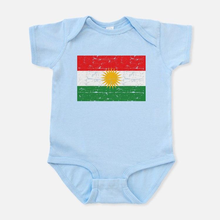 Kurdish Flag designs Body Suit