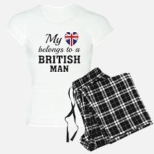 Heart Belongs British Pajamas