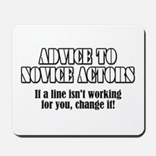 "Advice ""Change It"" Mousepad"