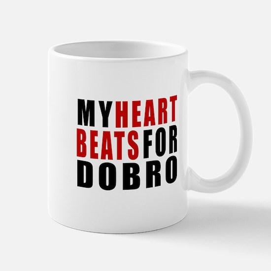 My Heart Beats For Dobro Mug