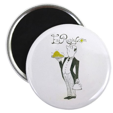 Eat Richly Circular Magnet