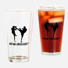 Kickboxing Define Obsessed? Drinking Glass