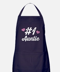Number 1 Auntie Apron (dark)